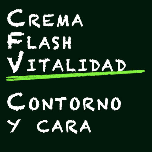 CONTORNO Y FACIAL: Flash Vitalidad